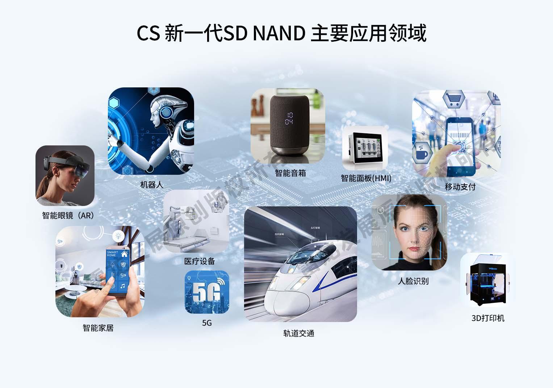 CS新一代SD NAND主要应用领域
